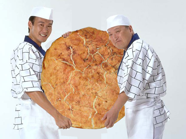 巨大煎餅・ジャンボ煎餅