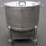 巨大寸胴鍋(深型・2,000杯鍋)