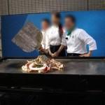 ジャンボ鉄板料理
