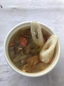 ジャンボ鍋(ジャンボキリタンポ鍋)inたざわ湖