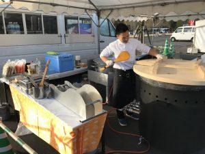 ジャンボ鍋 さつま汁無料配布in鹿児島ふれあいスポーツランド