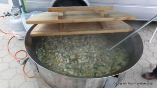 1000名ジャンボ平鍋(直径1m)